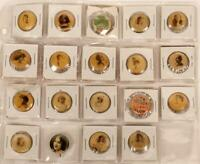 1900's Collection Sweet Caporal Hollywood Actress Advertising Pin Button Pinback