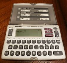 Casio Ex Word Xd-E15 Tested - Fresh Batteries Included