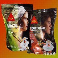 Delta BRAZIL & PORTUGAL Ground Coffee, Portuguese, kофе, Kaffee 220g + 250g