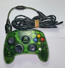 Original Microsoft XBOX Wired  Green Controller S