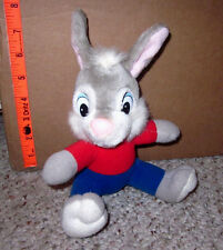 BR'ER RABBIT vtg beat-up plush Song of South doll Disney 1960s BRIER controversy