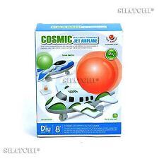 Cosmic Ballon Accionado Avión juguetes educativos bricolaje Kit De Aprendizaje De Ciencias