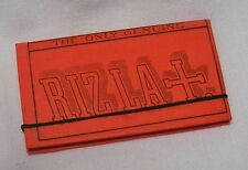 NEW VINTAGE RIZLA+ CIGARETTE TOBACCO ROLLING PAPERS w/STRING EXCELLENT