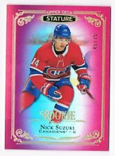 2019-20 Upper Deck Stature Red Parallel Base & Rookies Pick From List #/75 !!