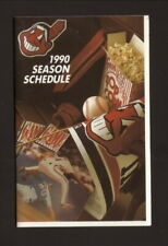 Cleveland Indians--1990 Pocket Schedule--Subway