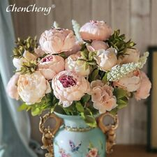 CHENCHENG 13 Branches Artificial Silk Decoration Home and Hotel Office Party