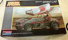 Monogram Brad Doty Sprint Car World of Outlaws Car Model Kit #2752 OPENED #M-86