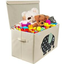 Toy Storage Organizer Chest for Kids & Living Room, Nursery, Playroom