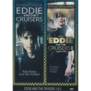 Eddie And The Cruisers 1 + 2 collection (All Region Dvd)= Dvd
