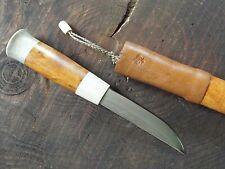 Knife Custom  messer  PUUKKO  Finland  HUNTING  Not used