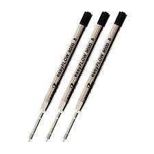 Schmidt Easy Flow 9000 Parker Style Ball Pen Refill, Broad, Black, Pack of 3