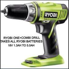 RYOBI 18v Cordless Lithium Hammer ONE+ Combi Drill LLCDI1802 *BODY ONLY*
