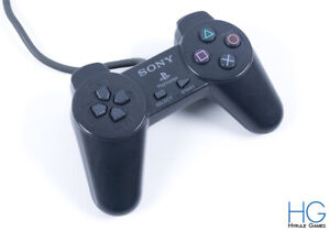Official Black Sony PS1 PlayStation Controller PSX