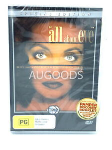 All about Eve special Edition 2 Disc -Rare DVD Aus Stock -Music New Region 4