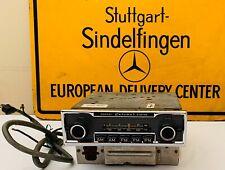 Mercedes-Benz Radio Becker Europa II Stereo With Amp W114 C114 W115 W113  W116