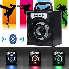Wireless Bluetooth altoparlante portatile all'aperto STEREO SUPER BASS CON USB/TF/FM Radio