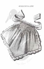 Reproduction Vintage Smoked Hostess Apron Sewing Pattern 5013