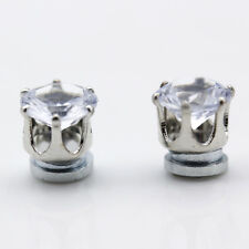 Fashion No Piercing Clip on Crystal Magnetic Ear Studs Men women Earrings