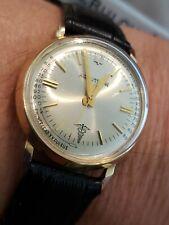 Rare 1963 14k SOLID Gold Bulova Accutron Doctor's Watch 214 Original orig case