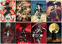 Anime Dororo Polypropylene 8 Pieces Posters Wall Poster A3-poster