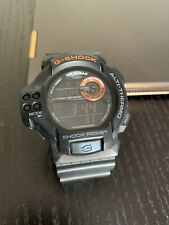 Casio G-Shock GDF-100 3255 Altimeter Temperature Sensor Barometer Black Orange