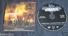 UNEARTH—2004 PROMO CD SAMPLER—THE ONCOMING STORM