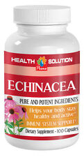 Herbal Laxative Supplements - Echinacea 400mg - Echinacea Herb Capsule 1B