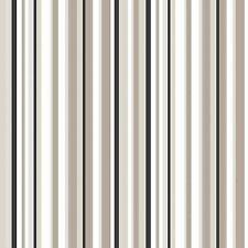 Papel Pintado Debona De Lujo Trend Código De Barras Diseño A Rayas Marrón &