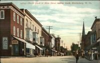 Martinsburg WV North Queen or Main St. c1910 Postcard