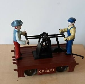 K-Line  O.. 0/27 scale Central Pacific handcar
