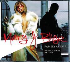 MARY J BLIGE FAMILY AFFAIR 3 TRACK + VIDEO AUSTRALIAN PRESSING CD - EXC - VGC