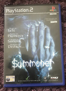 SUMMONER  PS2 PLAYSTATION 2 GAME FIGHTING FUN COMPLETE WITH MANUAL