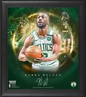 "Kemba Walker Boston Celtics Frmd 15"" x 17"" Stars of the Game Collage - Facsimile"