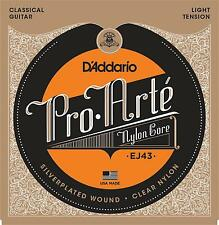 D'Addario EJ43 Pro Arte Nylon Classical Guitar Strings light tension