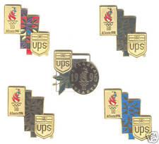 1996 ATLANTA SUMMER OLYMPIC UPS VIP SPONSOR PIN SET