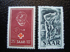 SARRE (allemagne) - timbre - yt n° 271 272 n* (A3) stamp germany
