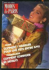 Modes de Paris - 1718 - decembre 1981