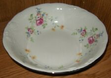 "Wawel Made in Poland Embossed Floral 9"" Round Vegetable Bowl"