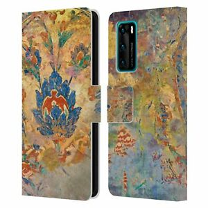 AIMEE STEWART ASSORTED DESIGNS LEATHER BOOK WALLET CASE COVER FOR HUAWEI PHONES