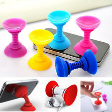 New 1PC Silicone Double-sided Suction Cup Holder Sucker Stand For Mobile Phones