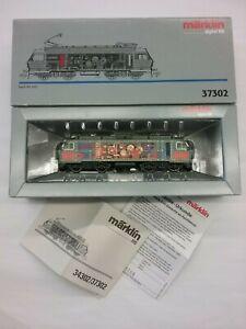 Marklin Digital HO Scale Electric Locomotive #37302 RE 446 Delta SOB