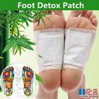 50PCS Detox Foot Pads Patch Detoxify Toxins Adhesive Keeping Fit Health Care US