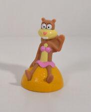 "RARE 2005 Sandy Cheeks Squirrel 2.25"" Bikni Bottom Spongebob PVC Figure Mattel"