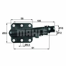 Oil Cooling Thermostat - MAHLE TO 5 82 - Quality MAHLE - Genuine UK Stock