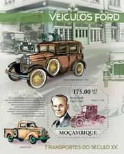 FORD VEHICLES (Model T / Henry Ford) Car Stamp Sheet #2 (2011 Mozambique)
