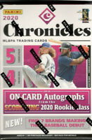 2020 Chronicles Baseball Factory Sealed Blaster Box - Bo Bichette?-Luis Robert?