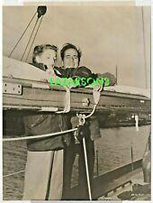 New listing Humphrey Bogart Lauren Bacall Rare Big Sleep Publicity Photo Warner Brothers 46