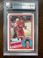 BGS 8.5 Steve Yzerman Rookie 1984-85 OPC O-Pee-Chee #67 Detroit Red Wings