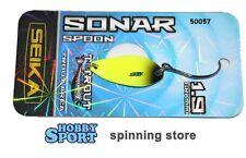 SONAR SPOON SEIKA TUBERTINI  col. 50057 -  GIALLO  - gr 1,9  TROUT AREA SPINNING