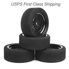 4PCS 66mm Foam Tires Wheel Rim For RV 1:10 Scale RC RV Recreational Vehicle Car